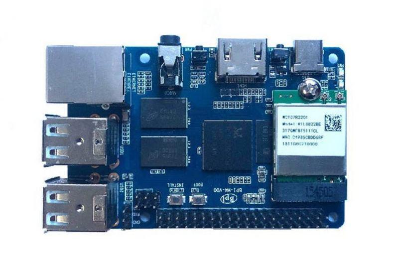 Banana PI with M.2 PCIe interface