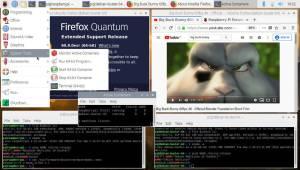 Raspbian 64-bit container