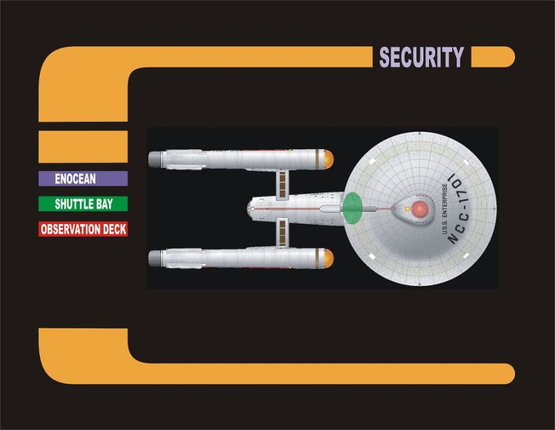 Star Trek Security Station