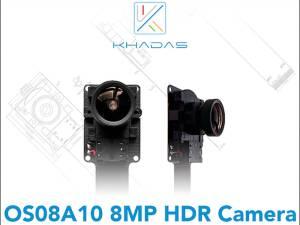Khadas telecamera OS08A10 HDR