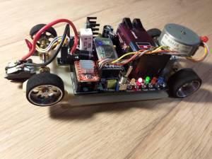 voltmetro su ruote