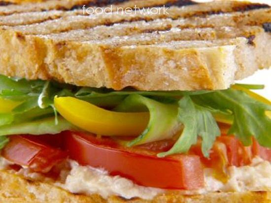 Gazpacho Sandwich