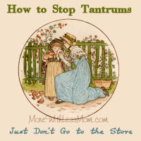 How to stop tantrums