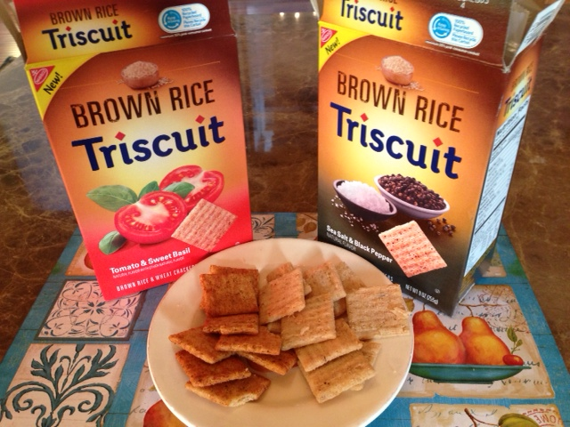 Have you tried the new Triscuit flavors? My favorite isTomato & Sweet Basil and the Sea Salt & Black Pepper. Order online and try them today!