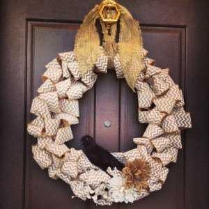 chevron wreath 4 2013