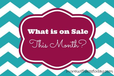 What is on Sale This Month? March Sale Items and Markdowns. Find out how to stretch your dollars in March with discounted items.