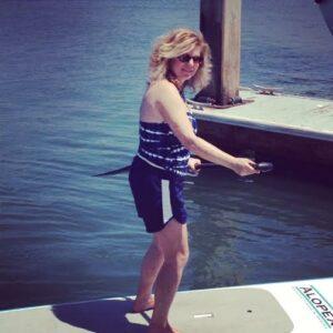 paddleboarding in Newport Beach