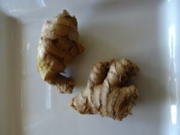 Fresh & Easy ginger knobs