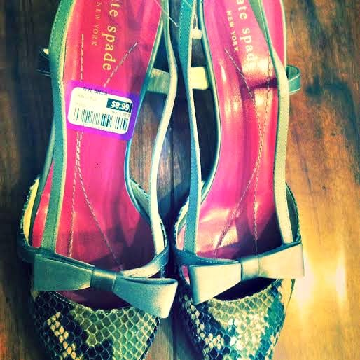kate spade goodwill shoes