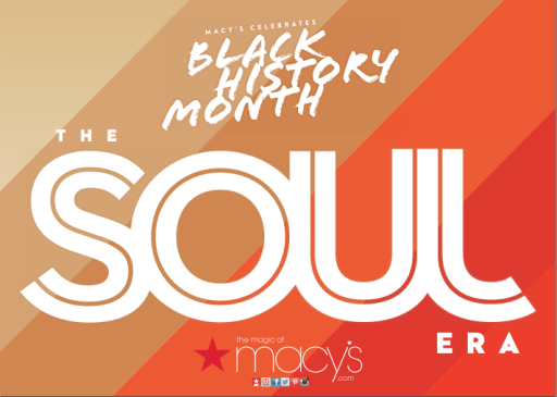 Macy's celebrates Black History month, Macy's free fashion show for Black History month featuring Soul inspired style with Johnetta Boone and June Ambrose