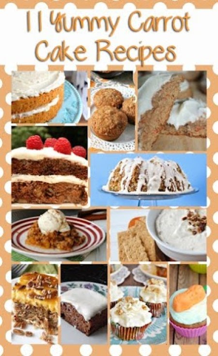 Hello, carrot cake lovers. We found 11 favorite carrot cake recipes from food blogs, including a fab gluten free carrot cake recipe.