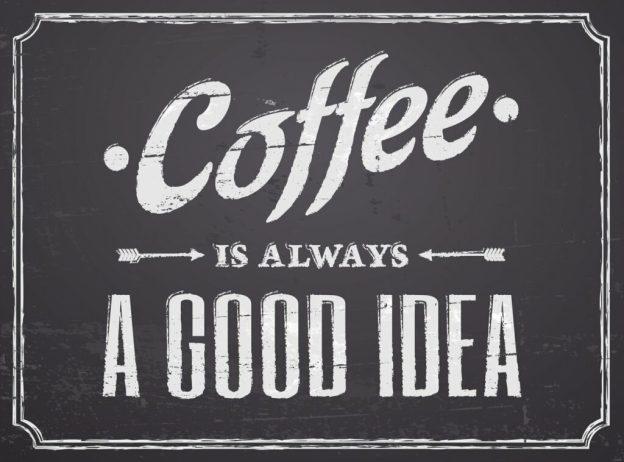 Chalkboard Coffee Design