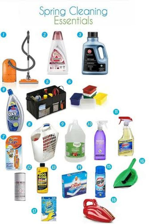 spring cleaning essentials, top products for spring cleaning your home, cleaning products that do double duty, safe and effective cleaning supplies, Sears