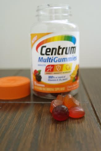 Centrum® MultiGummies easy way to take multivitamins, Centrum® MultiGummies coupon, Centrum® MultiGummies convenient way to take vitamins, daily multivitamin