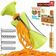 top rated fun kitchen gadgets, spiralizers, jalapeno corer, zesters, turn veggies into spaghetti