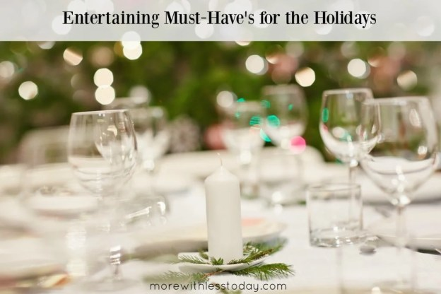 entertaining must-have's for the holidays, kitchen supplies for holiday dinners, Shop Your Way kitchen items, join Shop Your Way free points,