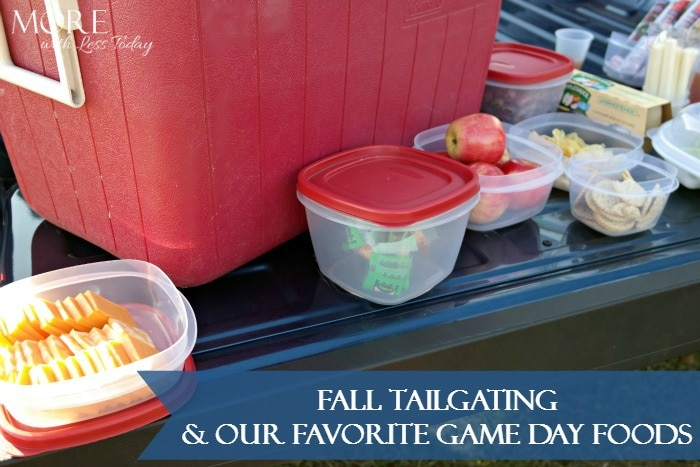 Fall Tailgating and Our Favorite Game Day Foods