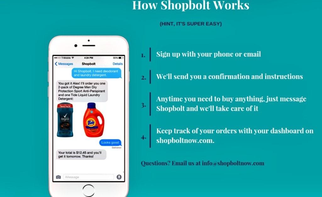 how shopbolt works