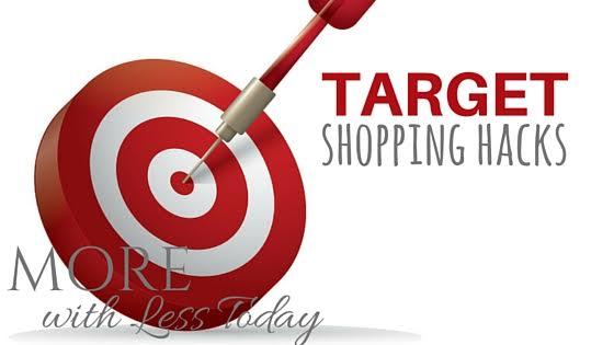 target shopping hacks