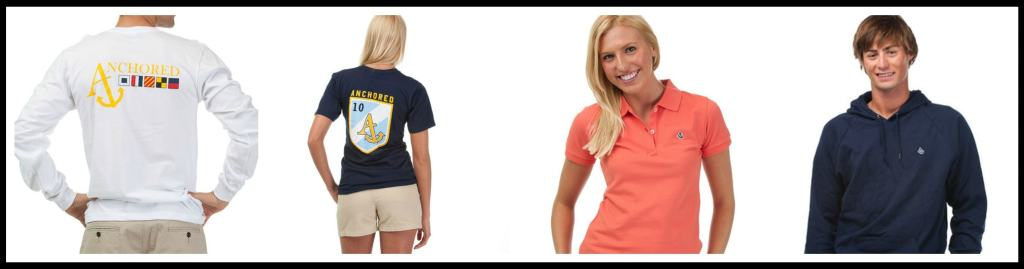 Nautical Style Clothing Now 50% Off, polo shirts under $10, Anchored Style clothing sale, preppy fashion,