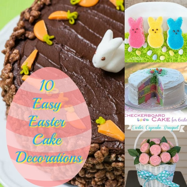 Turn your ordinary cake into something extraordinary with these 10 easy Easter cake decorations. Discover new ideas for Easter cake decorating.