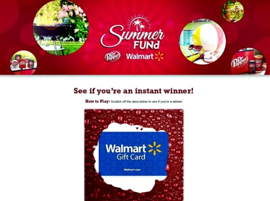 SummerFUNd instant winner scratch off game