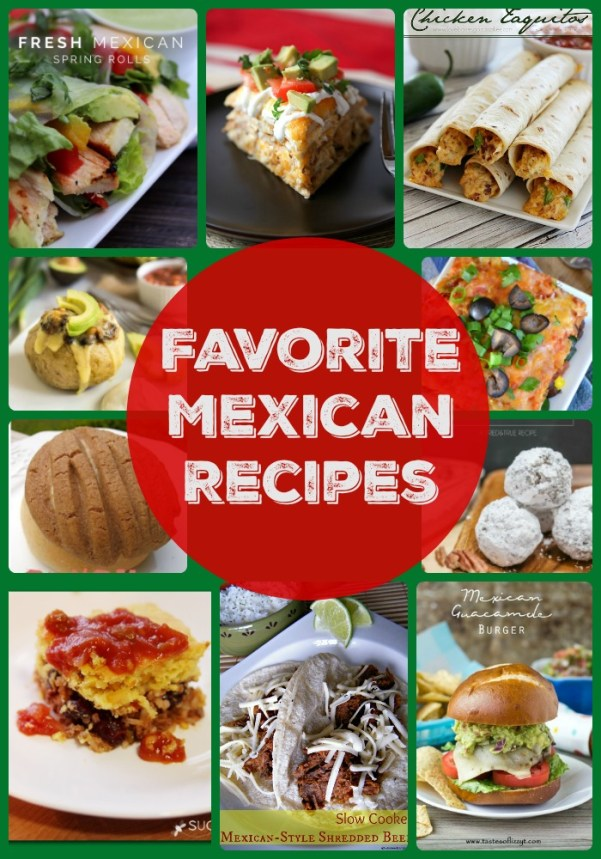Favorite Mexican Food Recipes