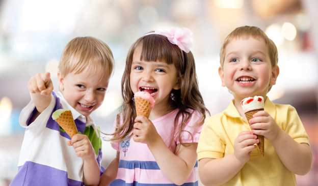 children's party ideas - have an ice cream bar theme