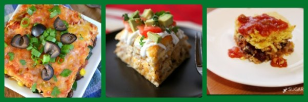 Easy Mexican Food Casseroles