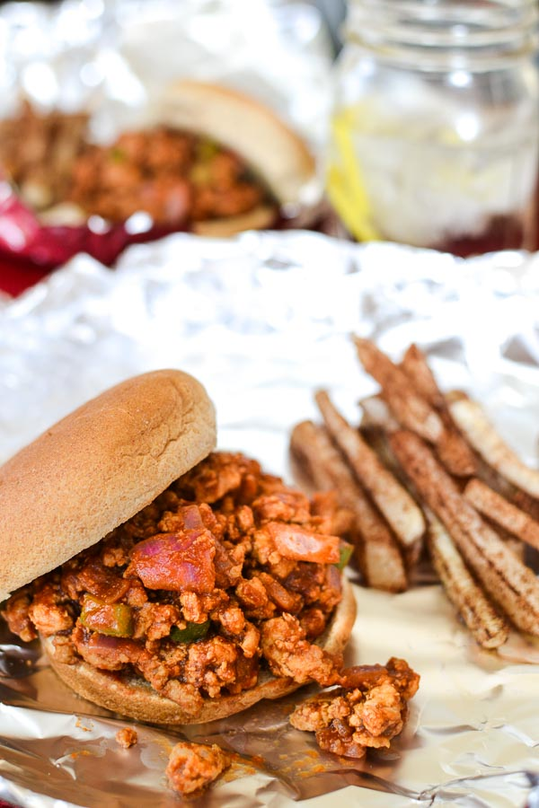 BBQ Turkey Sloppy Joe's recipe