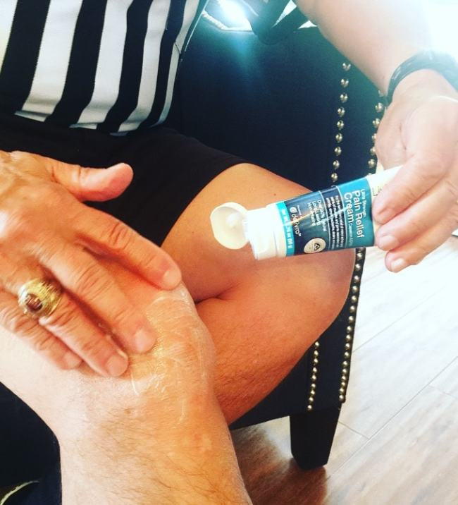 Topical pain relief cream LivRelief
