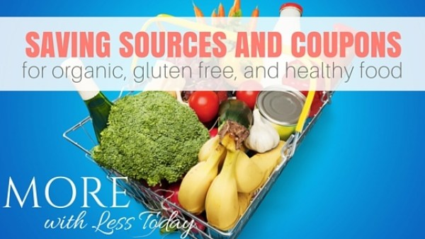 Wondering where to find Organic, Gluten Free and Healthy Food Coupons? Save more money eating healthy food with our sources for coupons and savings.
