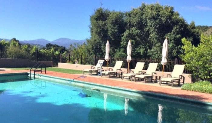 Holman Ranch swimming pool