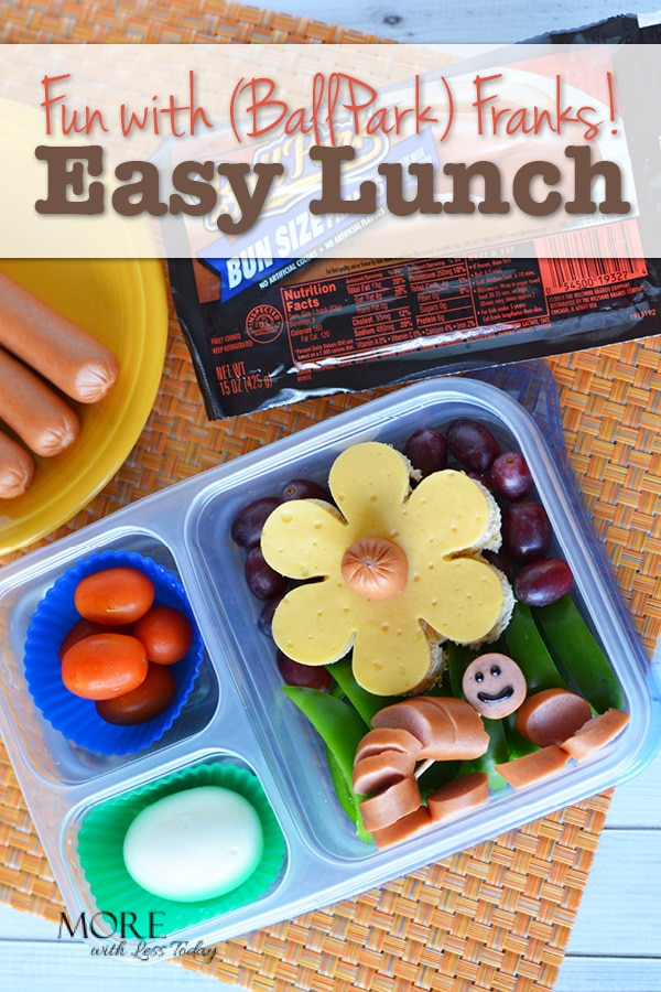 Are you looking for some delicious and creative lunch and snack ideas for back to school? Wouldn't this lunch bring a smile to your face? It's easy to make!