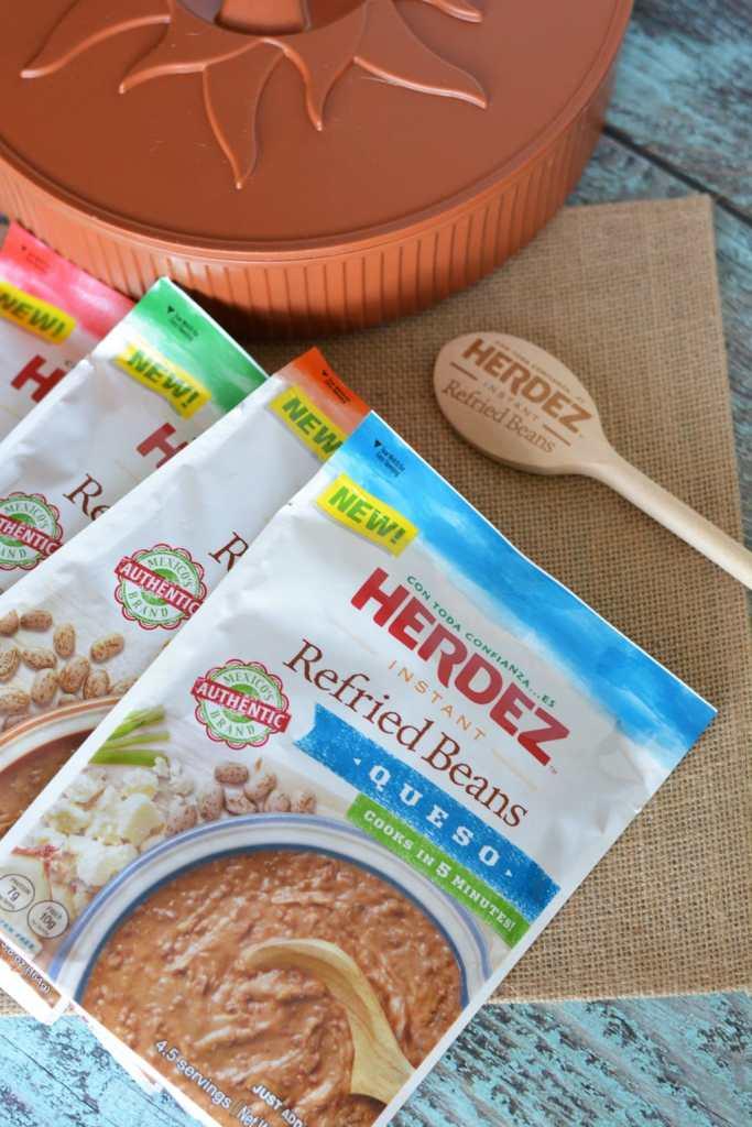 New Herdez Instant Refried Beans, homemade taste in 5 minutes!