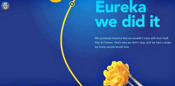 Kraft removed the artificial flavors, preservatives, and dyes from Mac & Cheese