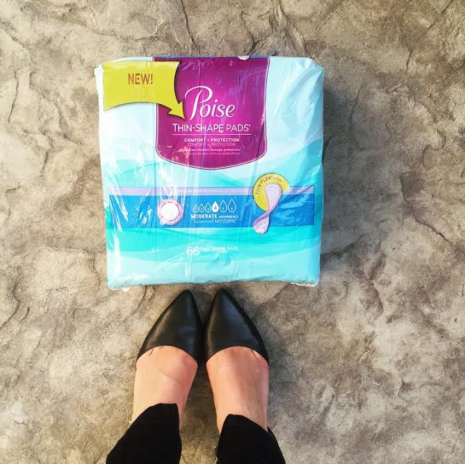 Seize Your Poise Moment with the new Poise Thin-Shape Light Absorbency pads