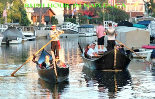 Naples, CA gondola tours with Gondola Getaway