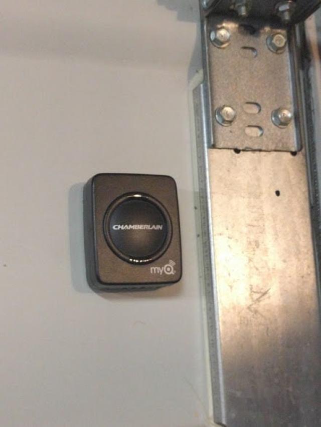 How to install a smartphone garage door opener
