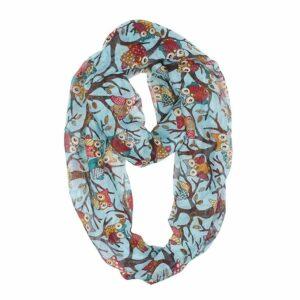 womens-soft-light-weight-cartoon-owl-sheer-fashion-scarf