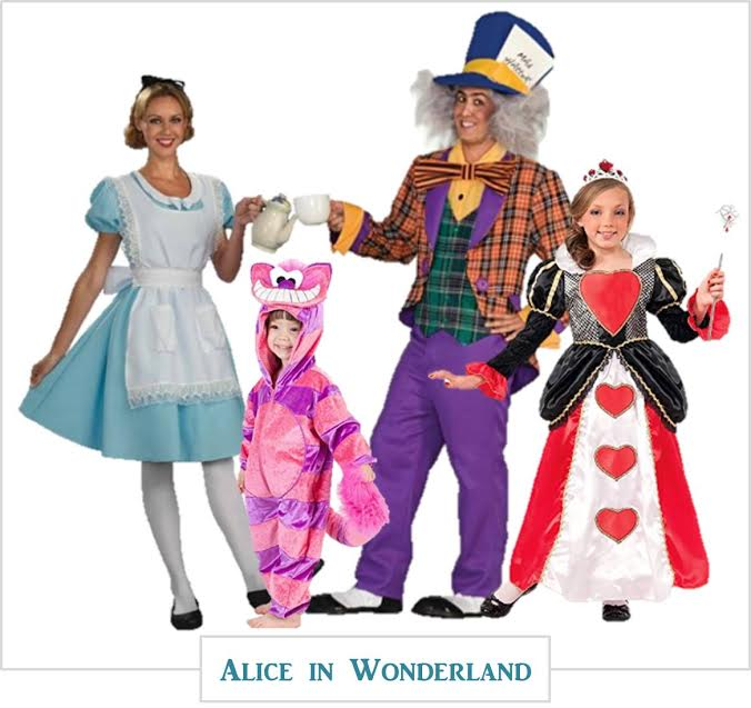 Family Halloween-costumes you can buy online