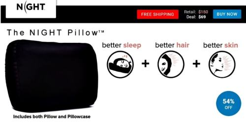 Night Pillow seen on View Your Deal