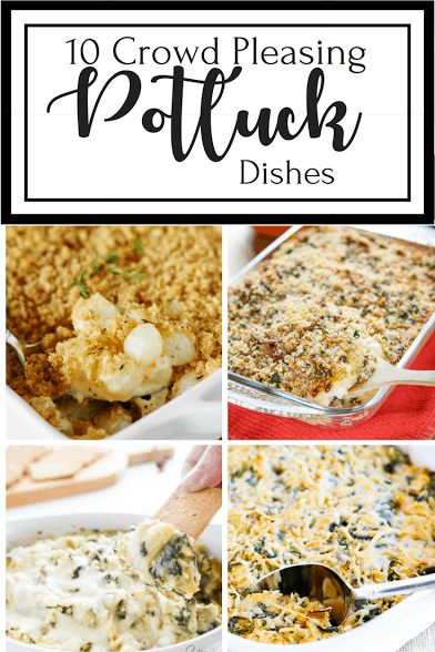 If you are looking for crowd-pleasing potluck dishes to take to a party, we have a roundup of 10 great recipes from food bloggers.