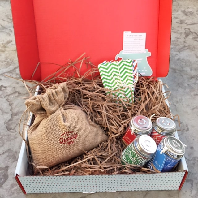 Popcorn gift sets Thoughtfully gift boxes