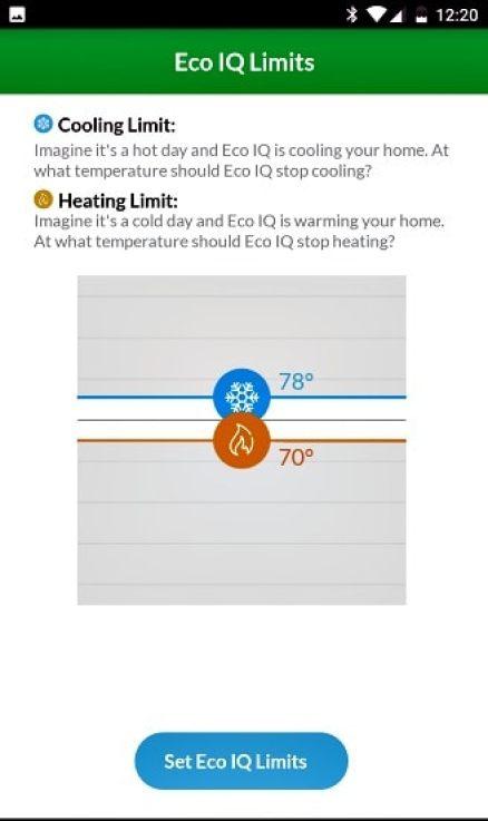 Eco IQ Wiser thermostat