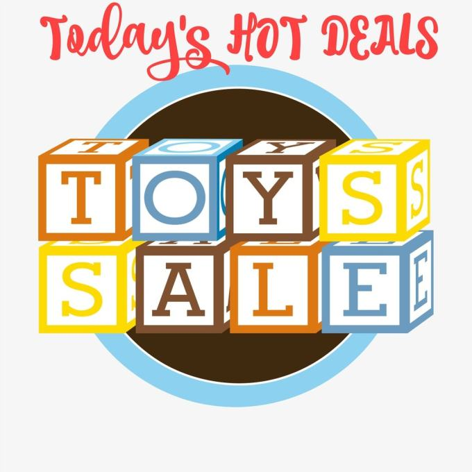 Are you looking for today's hot deals for toys and games? We have today's list as they are being rolled out. Get your shopping done early and on budget.