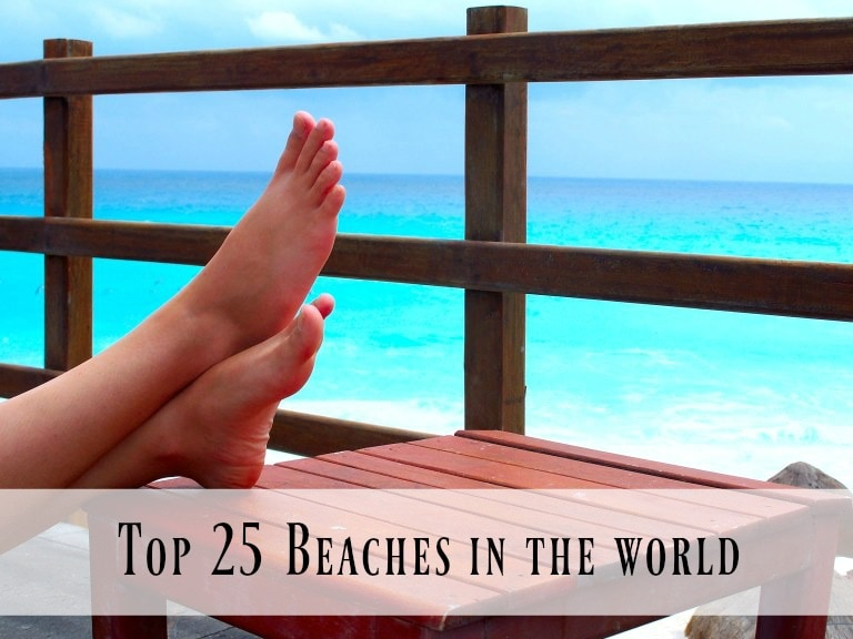 Are you dreaming of a beach vacation? Here are the top 25 beaches in the world, recommended by TripAdvisor. Daydream with me!