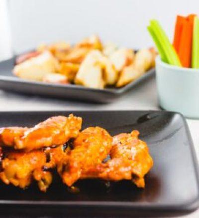 Buffalo Chicken Wings recipe in an insta pot