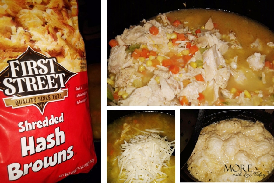 Smart & Final recipe made with hash browns