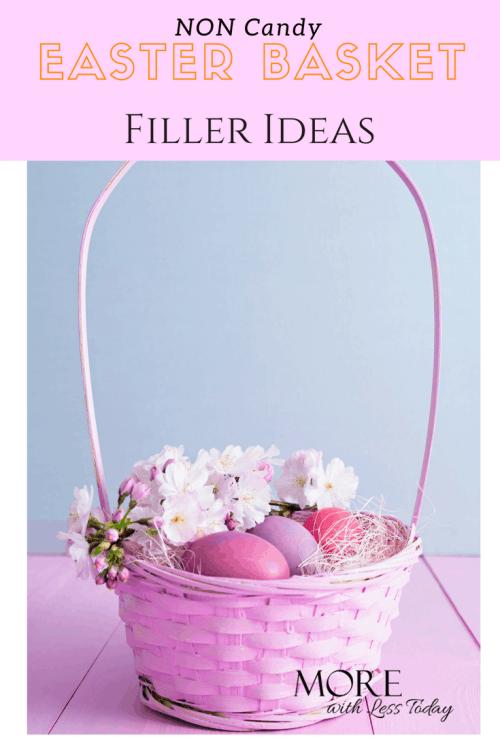 Non Candy Easter Basket Filler Ideas